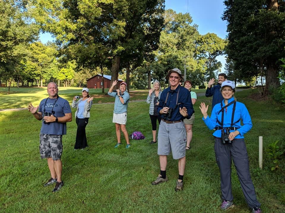 Birding club group photo