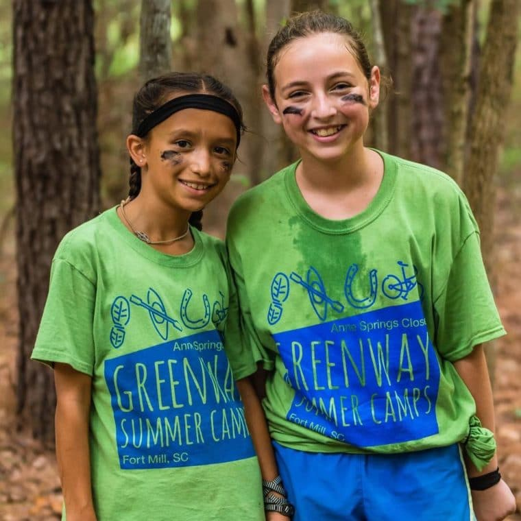 Girls enjoying Greenway Summer Camps
