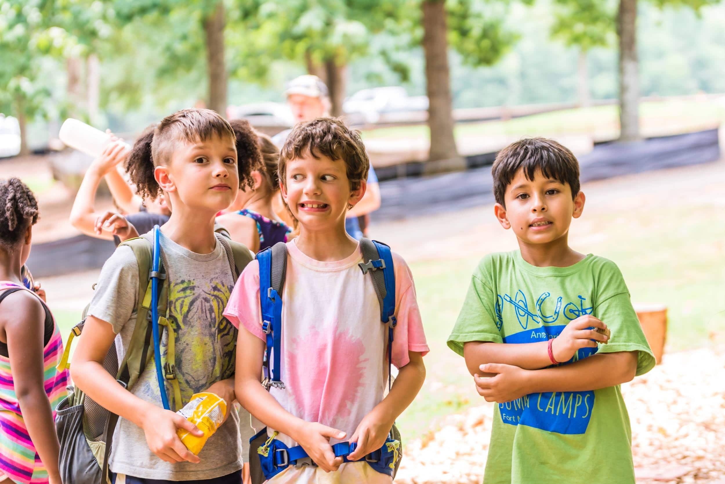 Happy kids at Greenway Summer Camp