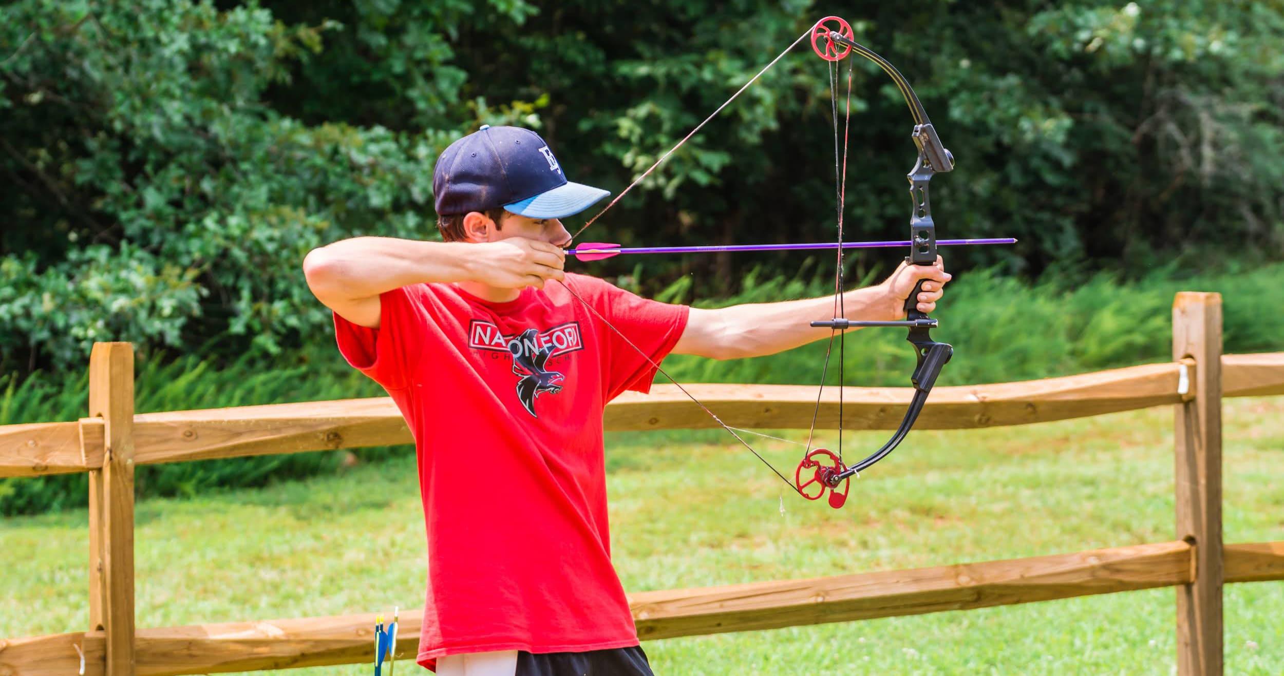 Archery at Greenway Summer Camp