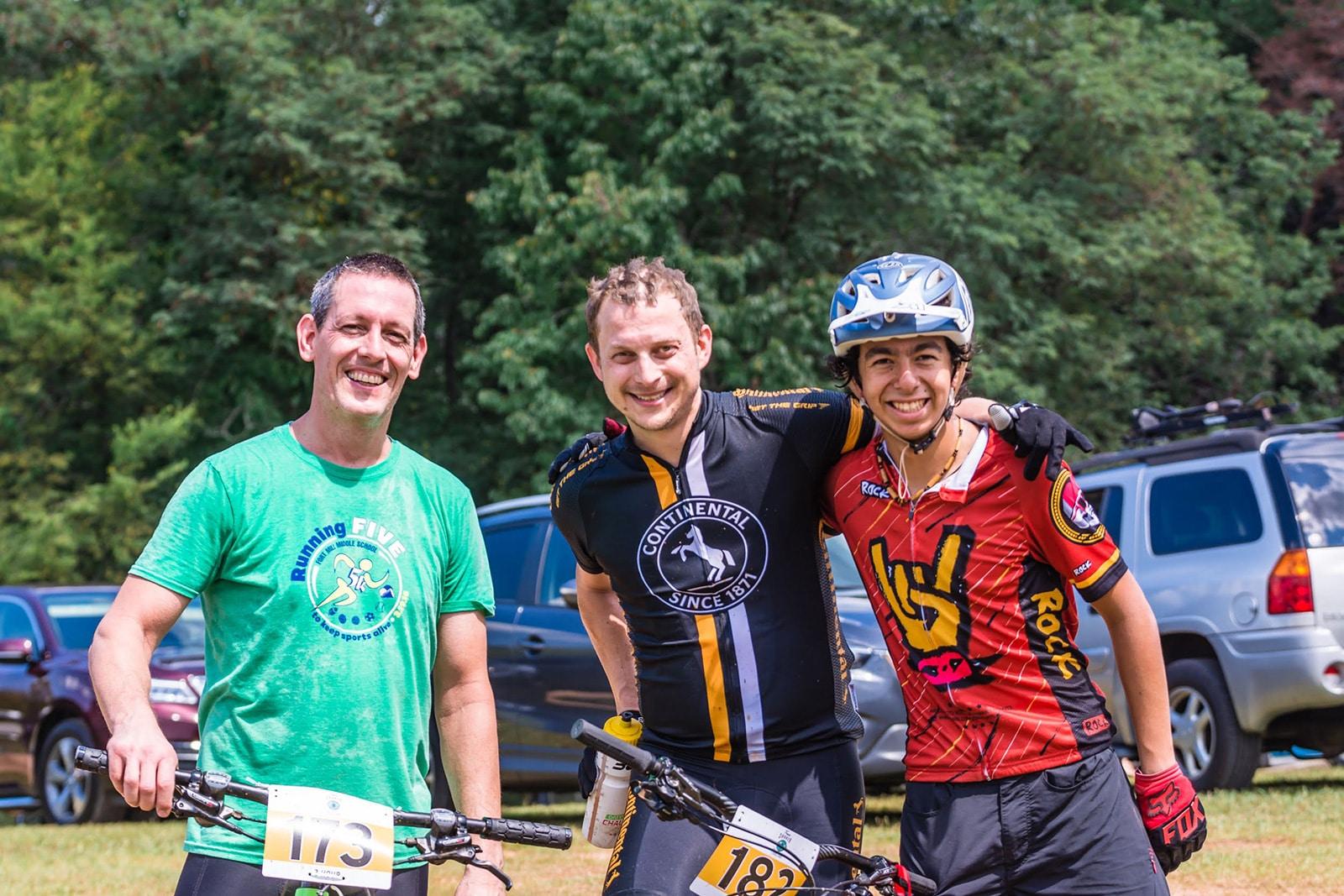 Treeshaker mountain bike race
