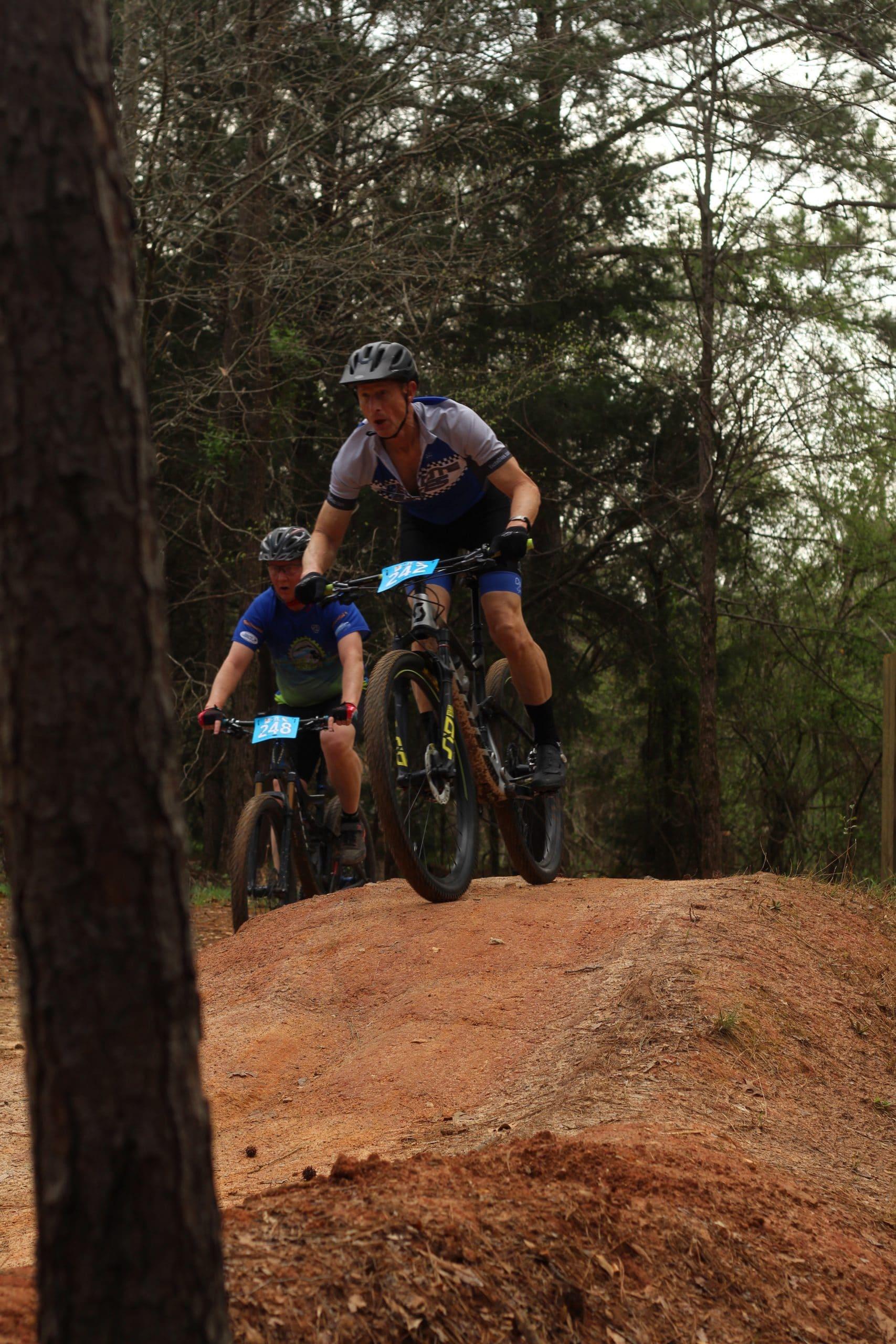 Anne Springs Close Greenway Blue Star Blitz Bikers