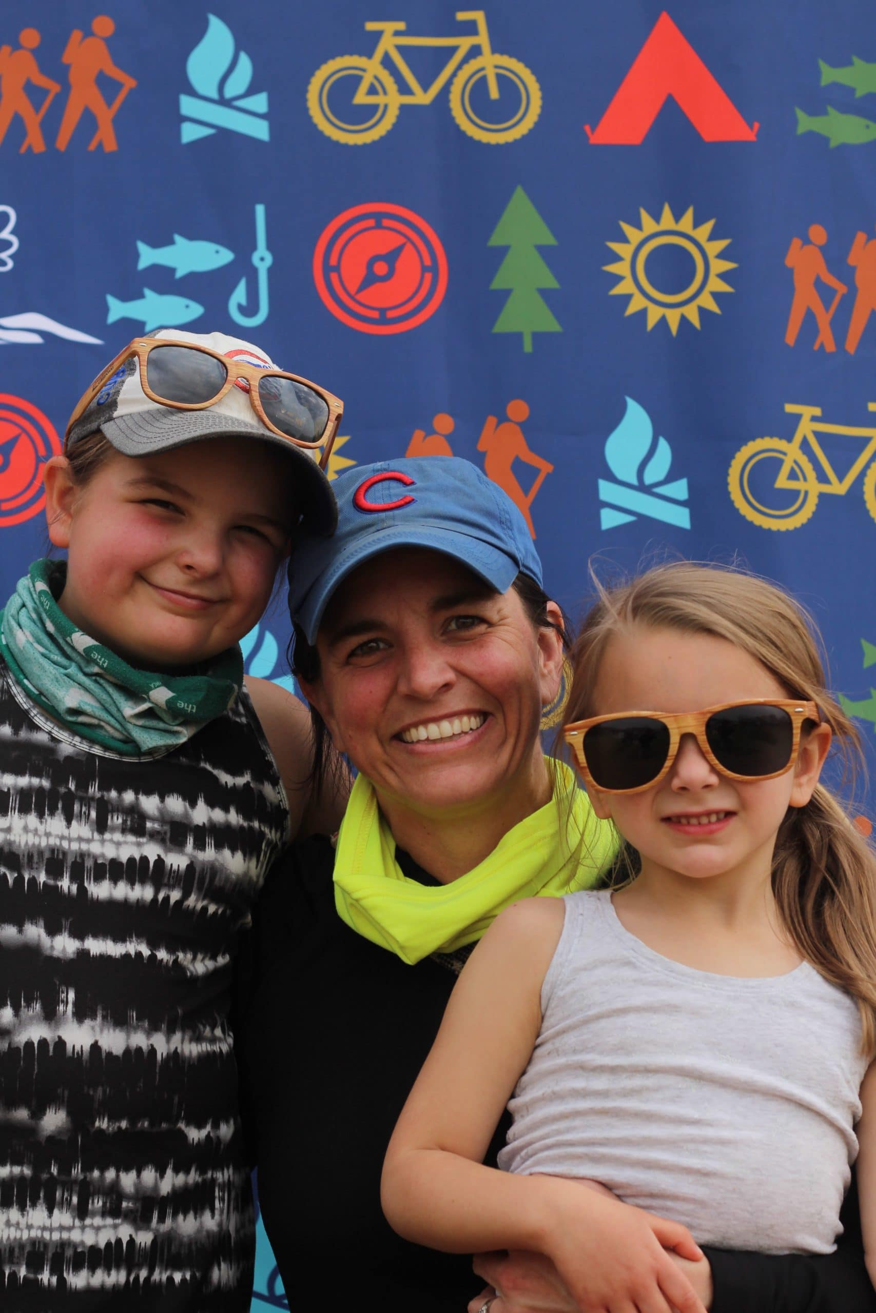 Family at Anne Springs Close Greenway Event