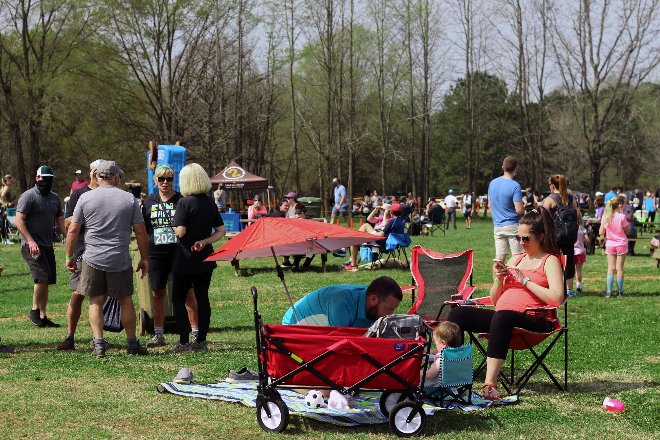 Anne Springs Close Greenway Blue Star Blitz Festival