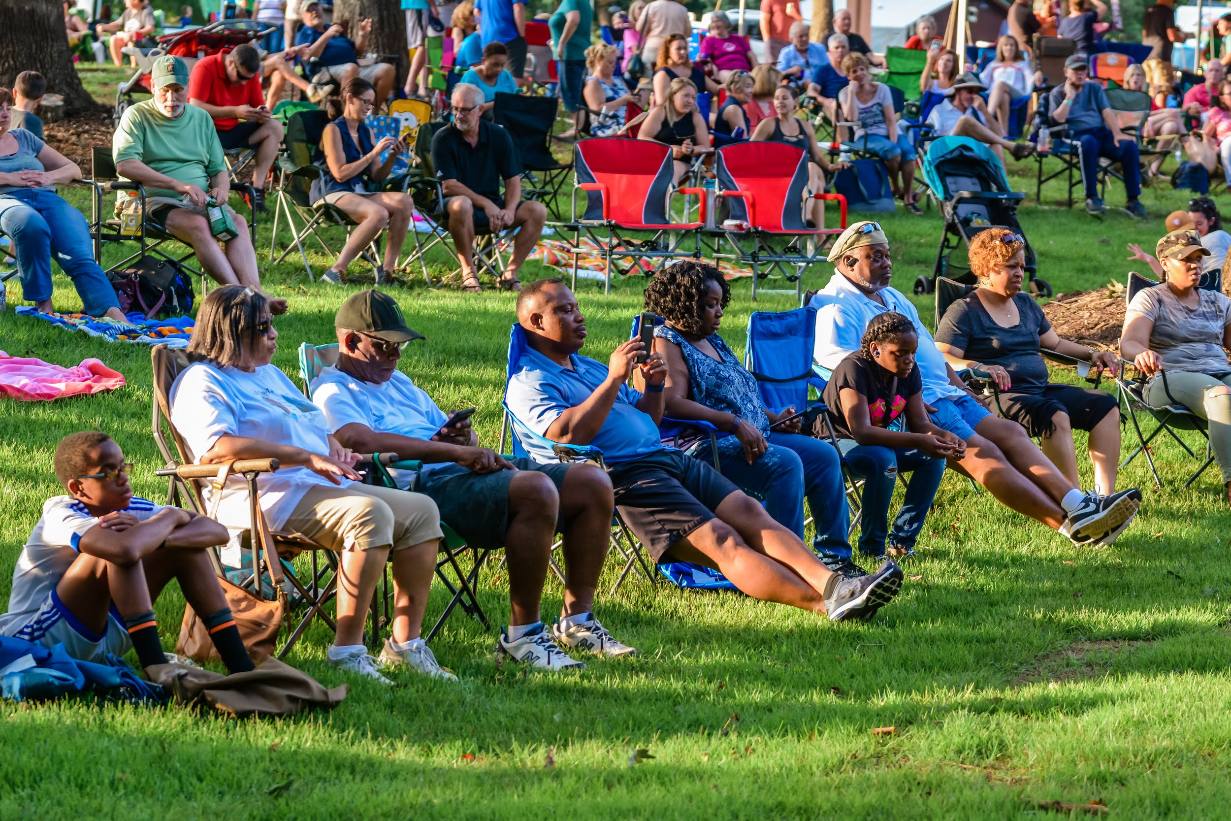 Summer Concert Series at Anne Springs Close Greenway