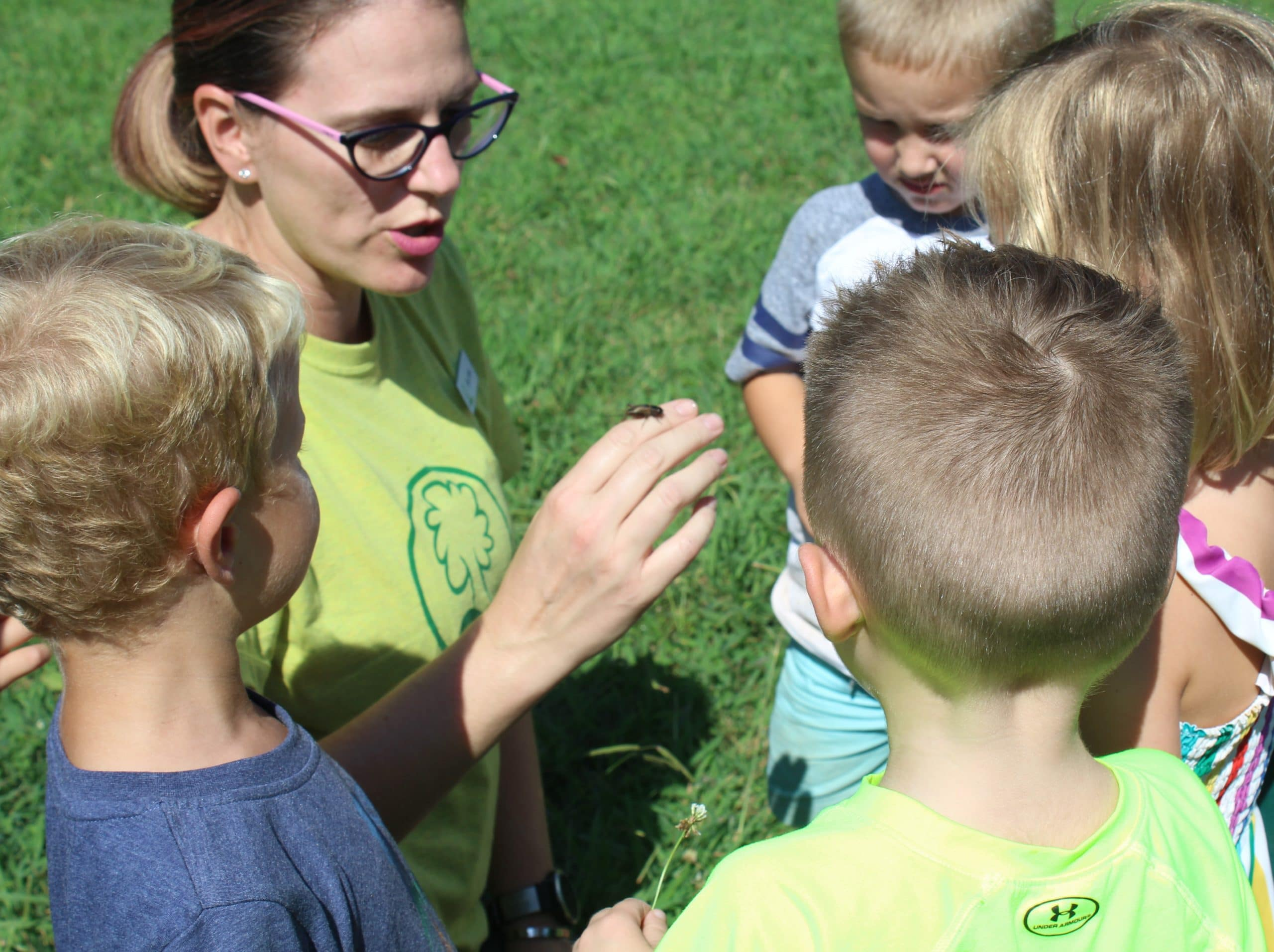 Nature Based Preschool at Anne Springs Close Greenway
