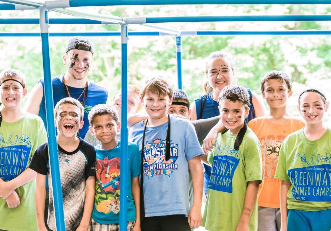 Group of kids at Greenway Summer Camp