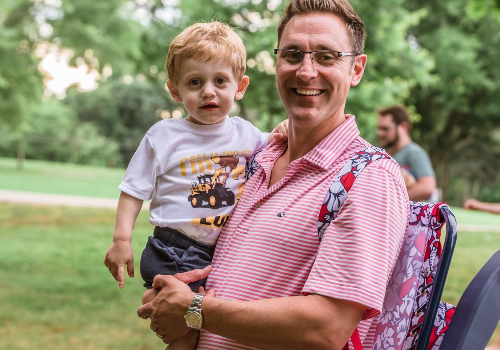 Father's Day BBQ at Anne Springs Close Greenway