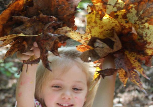 Outdoor preschool fun
