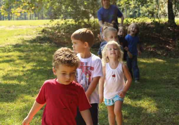 Preschool at Anne Springs Close Greenway